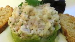 Ceviche de peix blanc