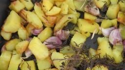 Patates al forn per a acompanyament de plats