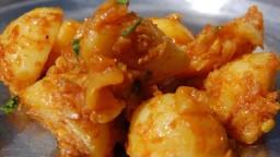 Curry de patates al estil Nepali - Alu ko tarkari