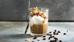 Granissat de cafè amb nous caramel·litzades