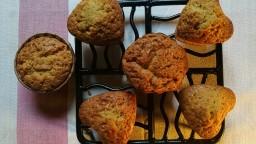 Muffins (magdalenes) de taronja i vainilla