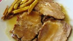 Llom de porc rostit al forn