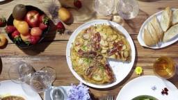 Pastís de patata i cansalada