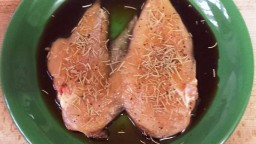 Pit de pollastre a la soja i romaní