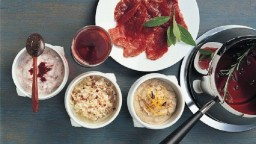 Salses per la fondue xinoise