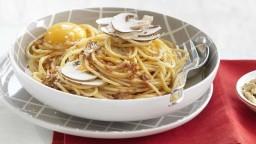 Espaguetis amb bolets