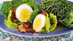 Col de Savoia amb ous i ceps