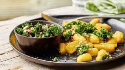 Pesto de col primavera-Kale