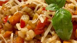 Arròs yamani saborós amb verdures