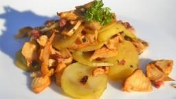 Cassola de patates amb rossinyols