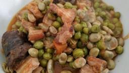 Faves i pèsols a la catalana