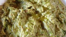 Crema de xampinyons i espàrrecs verds