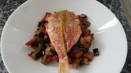 Peix a la planxa amb verdures al Wock