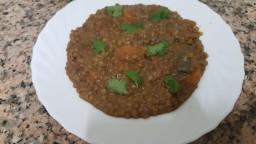Llenties al curry